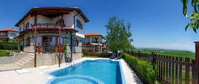 Photo for Detached Villa With Private Pools And Sea Views