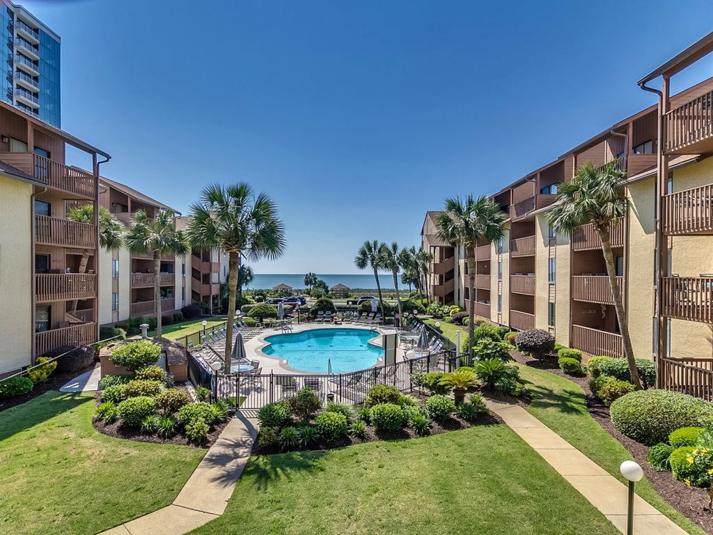 Newly renovated oceanfront 3 bedroom condo with pool at - 5 bedroom condos in myrtle beach sc ...