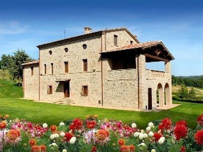 Photo for TUSCAN VILLA WITH  PRIVATE POOL ON THE BORDER BETWEEN TUSCANY/UMBRIA