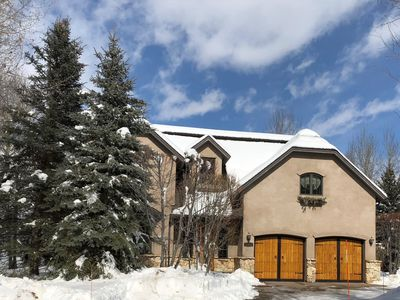 Photo for Elkhorn Entertainer! Large Luxury Home, Private Hot Tub, Billiards Room, WiFi AC