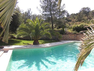 Photo for Villa with six fours the beaches with swimming pool