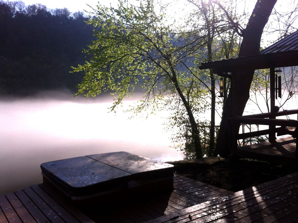 Secluded Cabin Guest House With Private Dock At West
