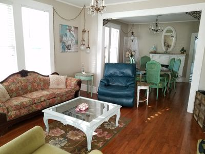 Photo for Beautiful, Shabby-Chic Home Close to Everything!