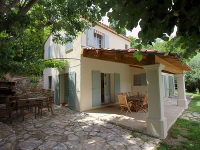 Photo for Very nice villa with pr. Pool and beautiful garden, quiet, 5 min from the village ...