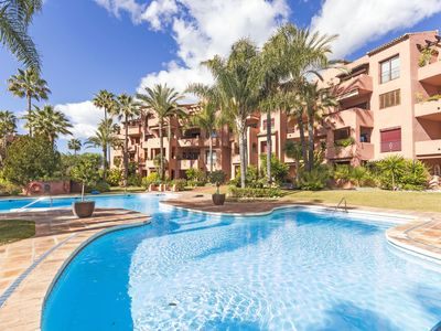 Photo for 2 beds apartment with seaviews in Alicate Playa Marbella Costa del Sol