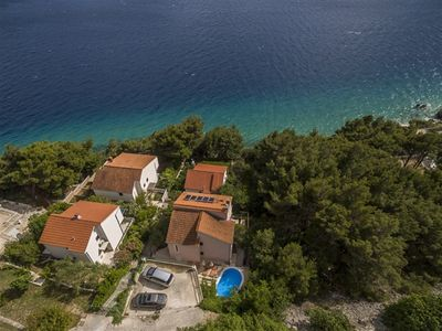 Photo for Deluxe Pool Villa With Views Of Adriatic Sea