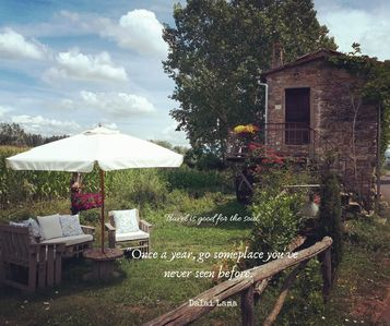 Photo for Typical farmhouse in Tuscany