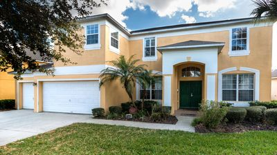 Photo for Stay in Mickeys Maingate Mansion - a 7 bed home @ Emerald Island near Disney!