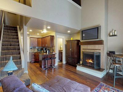 Photo for Charming condo w/ access to a shared hot tub, pool, sauna, & more - near skiing
