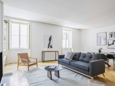 Photo for Sonder | Piazza Navona | Chic 2BR + Sofa Bed