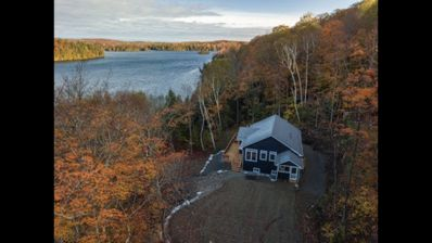 Photo for Waterfront Cottage in the Woods/5bedrooms large Dock