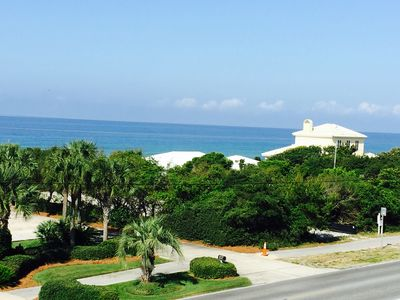 Photo for SPECIALSpring Rate! Gulf View! 30A, 2 minute Walk to Beach,  Pool