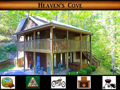 Photo for Heaven's Cove } Hot Tub / Pool Table / Secluded / WiFi