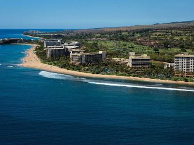 Photo for Gorgeous 1  bedroom villa at oceanfront Marriott Maui Ocean Club, Lahaina Tower!