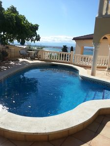 Photo for House Beautiful and very spacious. Sea and mountain views, beach 500 mts