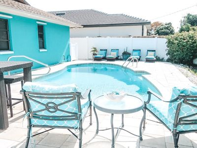 Photo for NAPLES OASIS | Private Heated POOL | 5 Min Bike Ride to the Beach!