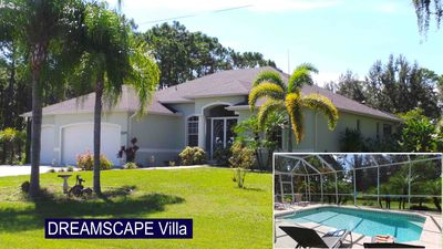 Photo for SPECTACULAR SPACIOUS 3 BDRM VILLA, LAP POOL, DEEP VIEW TO PRESERVE