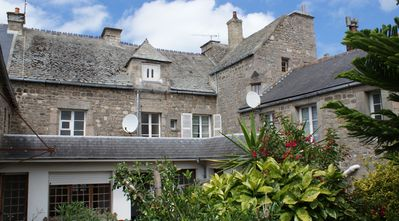 Photo for The Graineterie town house in the heart of Barfleur, terrace and garden 7 / 8p
