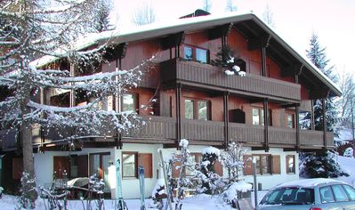Photo for Modern apartment in Zirblstuben style, right on the slopes,