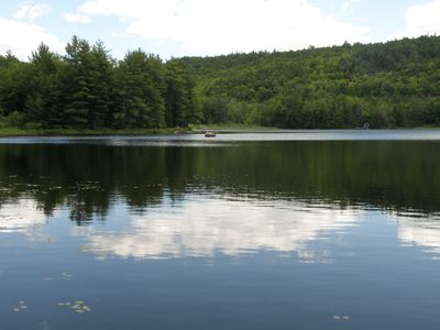Photo for Waterfront Cottage on Private Lake