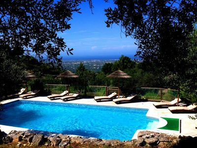Photo for Secluded Luxury Villa with Private Pool & panoramic sea views