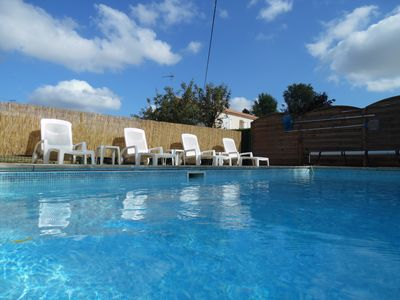 Photo for Vendee Gite -  Private Pool - sleeps 10 - Maison Mandara
