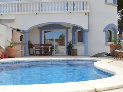 Photo for Beautiful House with Pool next to the beach Empuriabrava