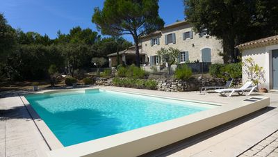 Photo for Mas for rent Saint Restitut with a breathtaking view of Mont Ventoux