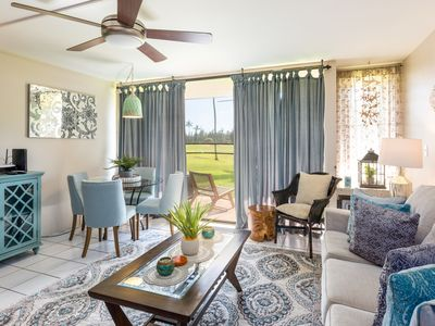 Photo for Stylish & Updated Golf Course Condo w/ 3 Pools, Minutes from Turtle Bay Beach