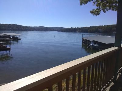 Photo for Lake Front 3 bedroom condo-perfect for fishermen, families and events