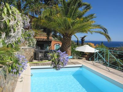 Photo for Fantastic holiday with great sea views and beautiful garden