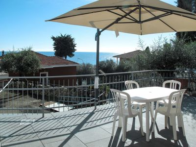 Photo for 2 bedroom Apartment, sleeps 4 in San Lorenzo al Mare with Air Con