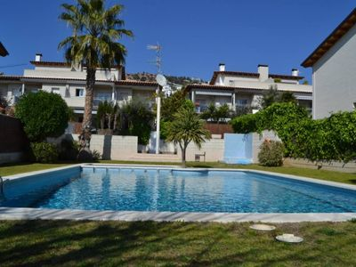 Photo for Sitges: Fantastic house with a garden and barbecue in SitgesFree Wi-Fi