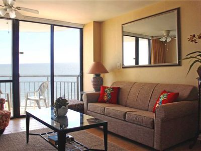 Photo for Direct Ocean front views of the beach! Meridian Plaza 801: 1 BR / 1 BA condo in Myrtle Beach
