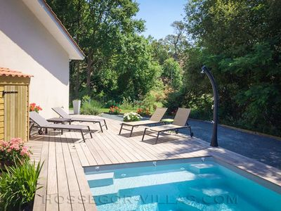 Photo for FAIRWAY House 6 pers. with heated pool near Hossegor