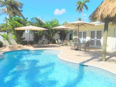 Photo for ALL NEW CASA BLANCA 5/4 FOR 10 GUESTS HEATED POOL 1 MILE TO HOLLYWOOD BEACH