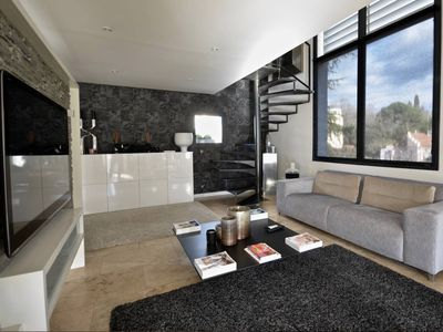 Photo for Design Town house heated pool boules court