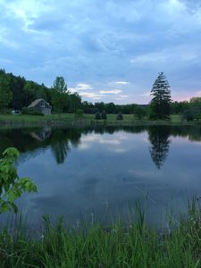 Photo for Mountain Country House/Cabin on 70 acres with 5 Ponds