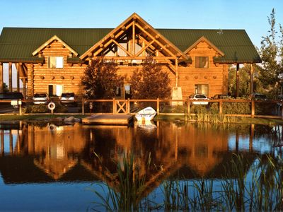 Photo for Spacious lodge and ranch property - great for large groups