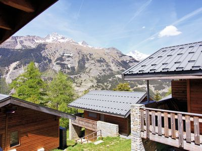Photo for Chalet for ten people in the car-free lively La Norma