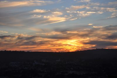 Another sunset from our deck.