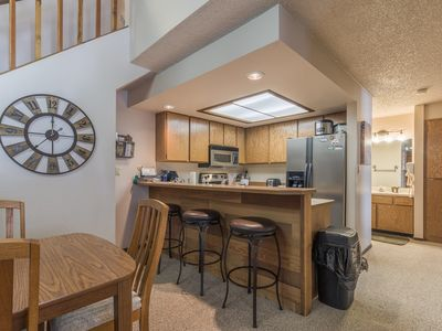 Photo for Ski in/Ski Out LARGE Condo, Jacuzzi, Sauna, Gameroom & Newly updated!!!