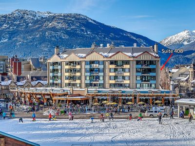 Photo for BEST LOCATION - True Ski In/Ski Out LOCATED NEXT TO LIFTS - Carleton Lodge 1 Bdm