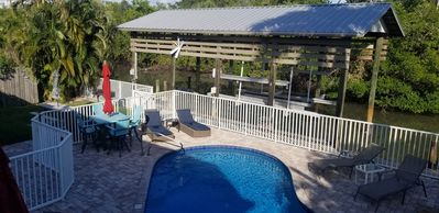 Photo for Water Views, Pool, Private boat dock, Walking distance to Times Square