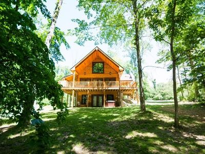 Photo for 3 Irish Sons Log Cabin located between Bloomington, Nashville & Lake Lemon!