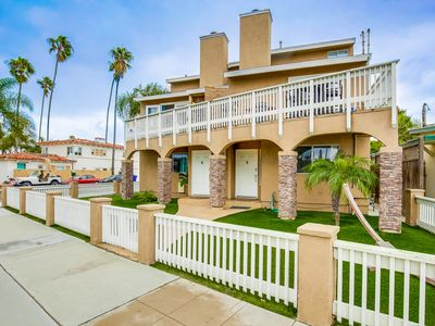 Photo for OB Loungin 1 - Modern, dog-friendly duplex, steps from the beach and bike path!