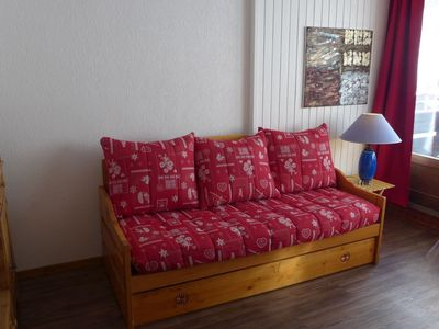Photo for Apartment 322 m from the center of Tignes with Lift, Internet, Balcony (570662)