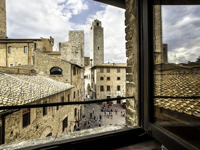 Photo for Apartment in San Gimignano with 2 bedrooms sleeps 4