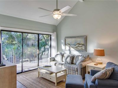 Photo for Wooded View | Recently Updated | Porch | Wifi | 2 BR Seabrook Island Villa