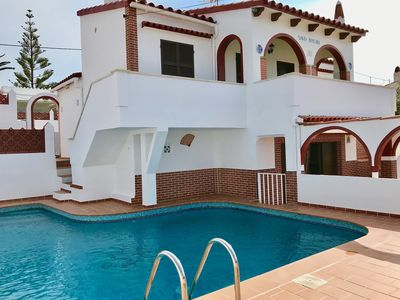 Photo for Private villa with pool in Calan porter-Menorca